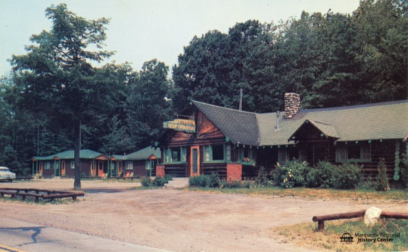 Northwoods Restaurant and Cabins before it was Barrel + Beam